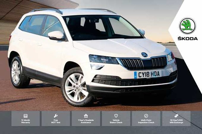 SKODA Karoq SUV 1.0 TSI (115ps) SE Technology DSG