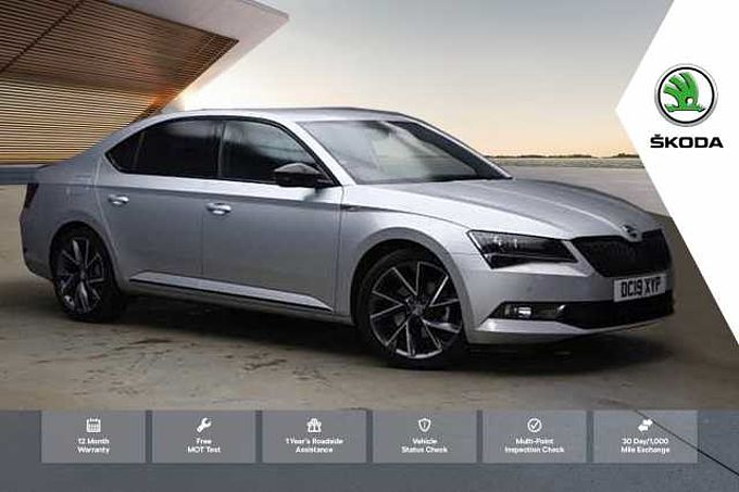 SKODA Superb 1.5 TSI (150ps) SportLine ACT DSG Hatchback