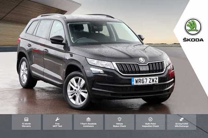 SKODA Kodiaq 2.0 TDI (150ps) 4X4 SE Technology (5 Seats)